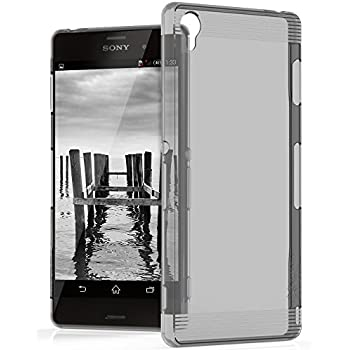 Amazon.com: Cadorabo Case Works with Sony Xperia Z3 in Frost ...