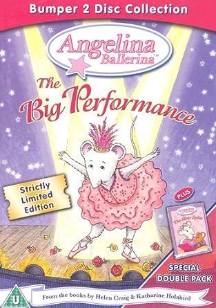 Angelina Ballerina Big Performance Dvd Amazon Angelina