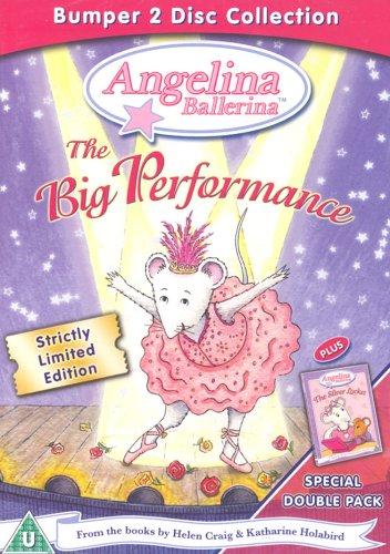 Angelina Ballerina Big Performance Dvd Amazoncouk Angelina