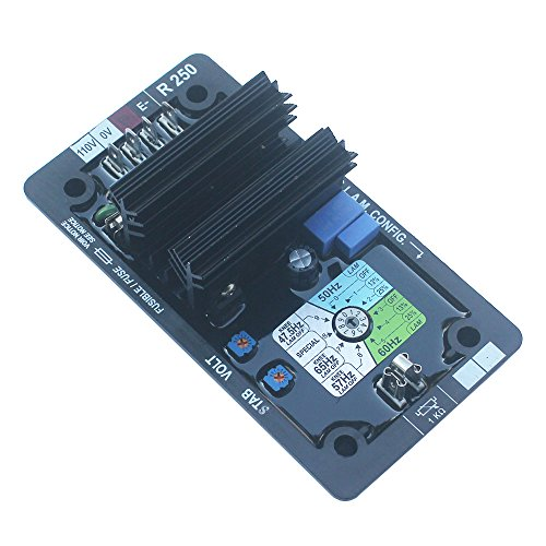KIPA AVR R250 Automatic Volt Voltage Regulator for Leroy Somer Generator with Manual R 250 AVR New