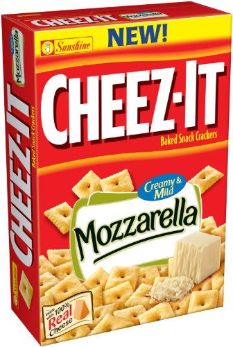 Kellogg's Sunshine Cheez-IT Mozzarella Cheese, 13.7-Ounce (Pack of - Mozzarella Fat Low