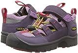 KEEN Unisex-Kids Hikeport Vent Hiking Shoe, Montana Grape/Teaberry, 11 M US Little Kid