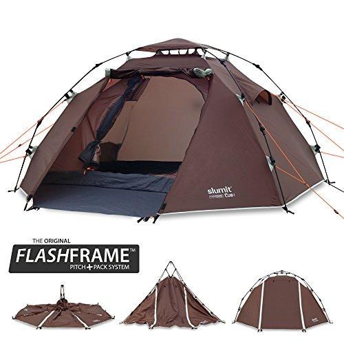 Slumit CUB 2 Instant Tent 2 Man Waterproof Double Layer FlashFrame Quick...