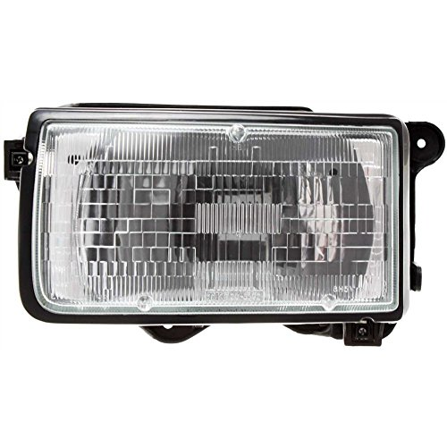 Honda Passport Headlight Assembly (Evan-Fischer EVA13572014117 Headlight for PASSPORT 94-97 RODEO 91-97 Assembly Halogen With Bulb(s) Driver Side)