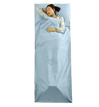 Hi Suyi ligero portátil única hoja de Sleepsack Camping saco de dormir Liner para Campamento al