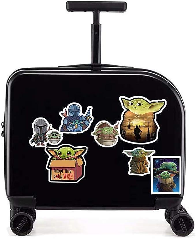 Jelacy 100 Pieces Child Vinyl Waterproof Cute Stickers for Laptop,Water Bottle,Car,Luggage Locker Skateboard,Mobile Phone