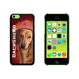 cincinnati reds case's Shop Dachshund - Weiner Dog Pet Snap On Hard Protective For Iphone 6 Plus 5.5 Phone Case Cover - Black 2244051M77839140