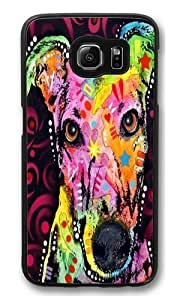 greyhound 02 PC Case Cover for Samsung S6 and Samsung Galaxy S6 Black