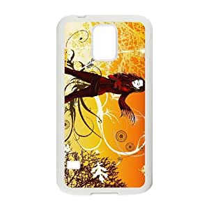 vector girl e 1920 13141803 Samsung Galaxy S5 Cell Phone Case White 53Go-239765