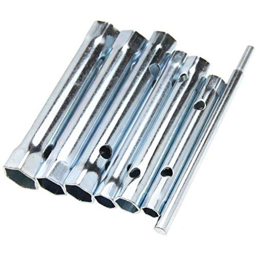 - New 6PCS Dual-ended Wrench Socket Plumber Back Nut Tap Spark Plug Spanner Set