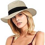 Atoghu Fabric Sun hat 100/% Cotton Women/'s African Fabric Beach Cap\u00a0 Reversible Ankara Wide Brim