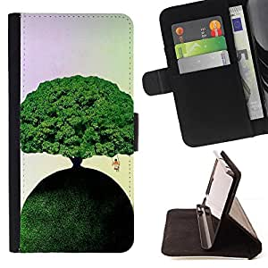 Kingstore / - Árbol Verde En Una Pista verde con un columpio que cuelga - Samsung ALPHA G850