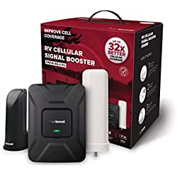 weBoost Drive 4G-X RV Cell Phone Signal Booster for RVs and Mobile Homes - Enhance Your Signal up to 32x. For Multiple Devices and Users