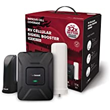 weBoost Drive 4G-X RV 470410 Cell Phone Signal Booster, Cell Signal Booster for Your RV or Motorhome - Mobile Home, Boosts 4G LTE Cell Signals – Enhance Your Cell Phone Signal up to 32x