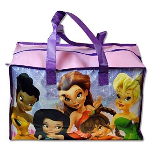 "Tinkerbell "" Fairies"" Large Non-Woven Gym Bag W/Matte Printing"