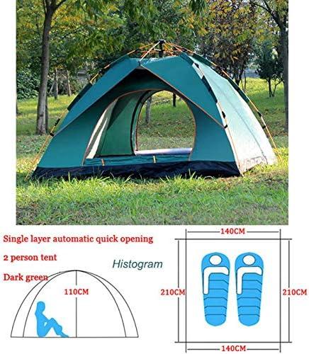 WMC Tienda de campaña al Aire Libre Tienda de campaña 3-4 Personas Playa turística Tienda de campaña Camping al Aire Libre Camping Doble Doble Tienda automática: Amazon.es: Deportes y aire libre