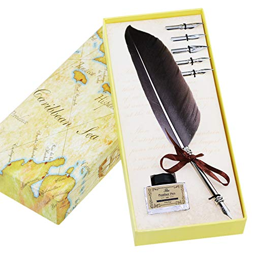 Cutiful Feather Calligraphy Pen Antique