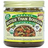 Better Than Bouillon, Vegetable Base, Organic, 8 oz. by Better Than Bouillon