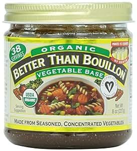 Better Than Bouillon, Organic Vegetable Base, 8oz