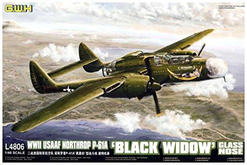 グレートウォールホビー 1/48 P-61A ブラックウィドウ グラスノーズ L4806 プラモデルの商品画像