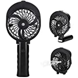 Peyou Handheld Misting Fan, [180° Foldable Portable Battery Cooling Fan, Spray Water Personal USB Desk Fan &Cooling Humidifier 2 in 1, USB or Rechargeable Battery Powered Fan for Office, Outdoors