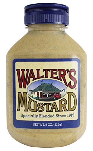 Price comparison product image Walter's Mustard,  9 Ounce