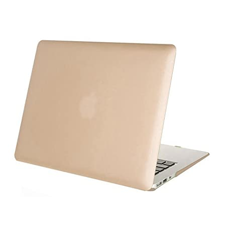 52c8f037fd7 DETUOSI MacBook Air 13.3'' Funda,[Glossy Design] Flip Folio Duro Caso