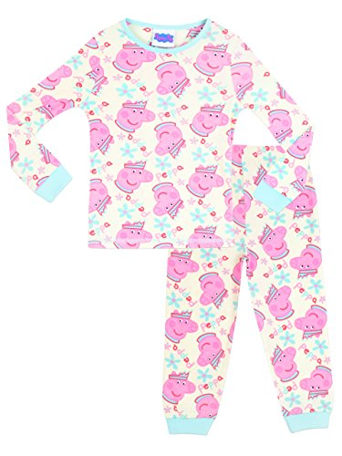 (Peppa Pig Girls Pajamas Size 5)