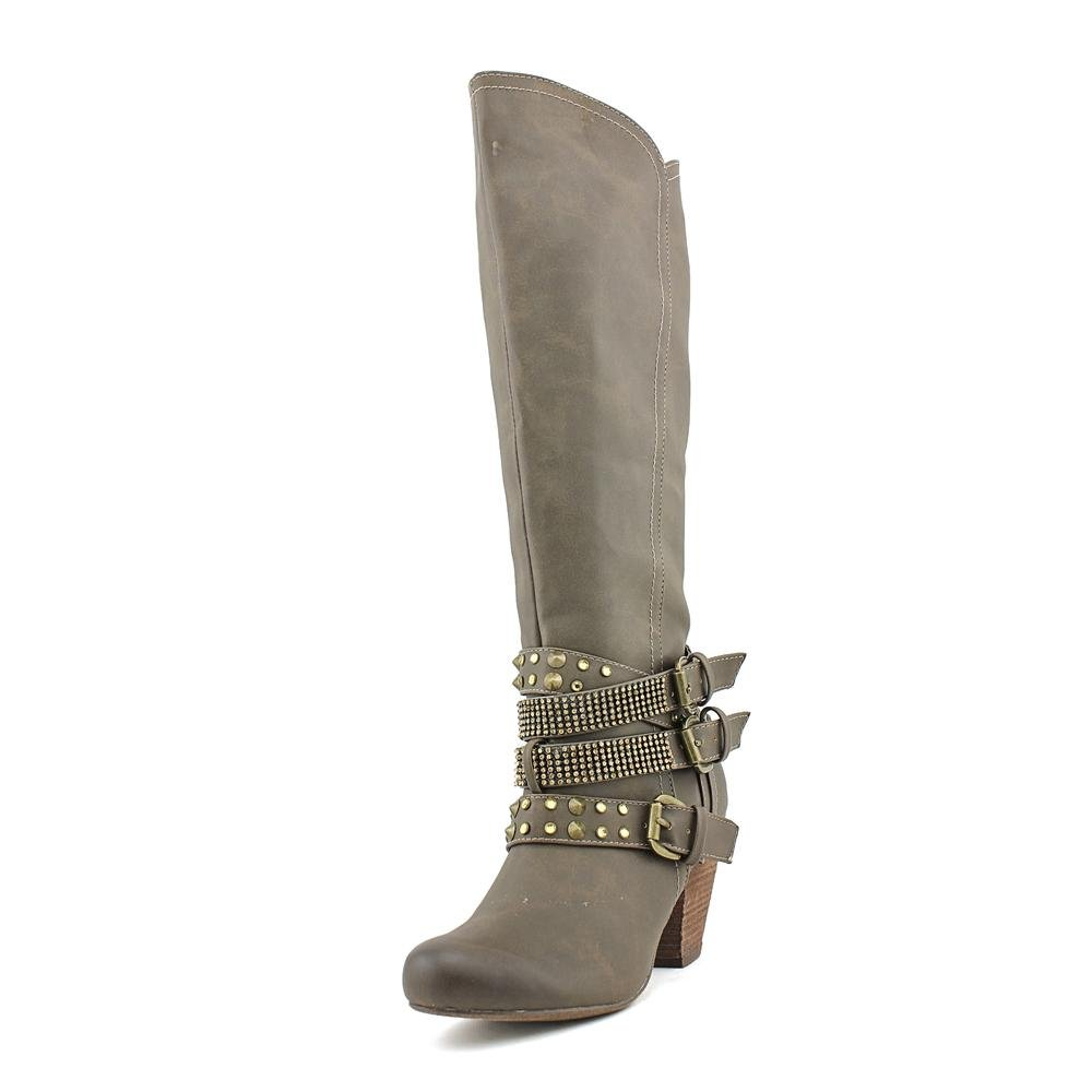 Not Rated Women's Cocktail Queen Riding Boot B00JH4H24W 6 B(M) US|Taupe