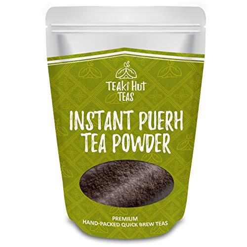 TEAki Hut Organic Instant Pu-erh Tea Powder (4 oz / 80 Servings)