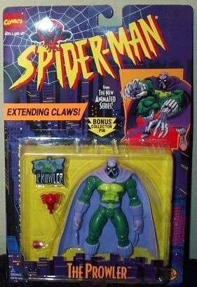 (Spider-Man The Prowler Extending Claws Action Figure by Marvel)