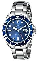 SO&CO York Men's 5042.2 Yacht Club Analog Display Japanese Quartz Silver Watch by SO&CO New York