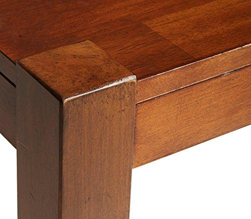 Ashley Furniture Signature Design - Lobink L-Shaped Home Office Desk - Contemporary - Brown Finish