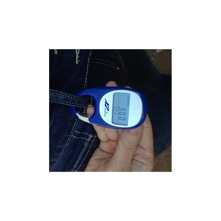 X2 Innovations Pocket Digital Pedometer For Walking, Easy Step Counting & Activity Tracking! Get Fit & Healthy Fast With This Wireless Personal Tracker. Love It Or Get A Refund!