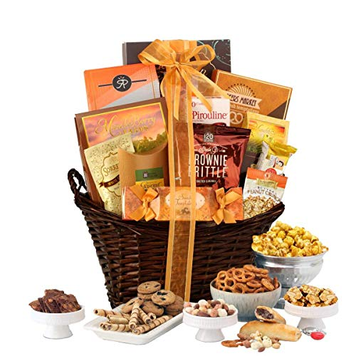 Gourmet Gift Basket of Chocolates, Cookies and Snacks Food...