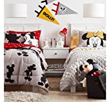 Franco Disney Mickey Mouse Sheet Set Red Twin