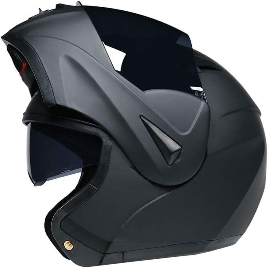 Color : Blau, Size : L LTJHJTCD Helmet Motorrad-Sturzhelm Motorrad-Sturzhelm Racing Vollgesichtssturzhelm Doppel-Objektiv Elektro-Fahrzeug Anti-Fog-Helm for M/änner Frauen Motorradhelm