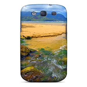 New Premium HzHbidp7244tlGJd Case Cover For Galaxy S3/ Bali Hai Stream Kauai Hawaii Protective Case Cover