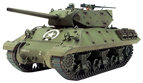 TAM35350 1:35 Tamiya M10 Wolverine Mid Production US Tank Destroyer [MODEL BUILDING KIT]
