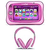 LeapFrog LeapPad Ultimate For Kids Ages 3-9 and LeapFrog Headphones, Adorable Pink Set For Your Little One, Interactive Learning Tools, Amazing Discovery, Life Skills, Educational Activity For Kids