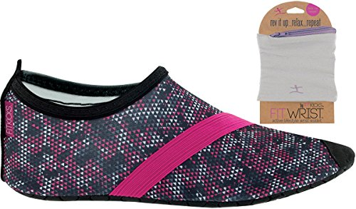 Womens with FITKICKS Shoes FITKICKS Womens Shoe Primal Grey FITWRIST Shoes Wallet twqZOO