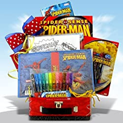 Spiderman Easter Day Gift Baskets Presents for Boys