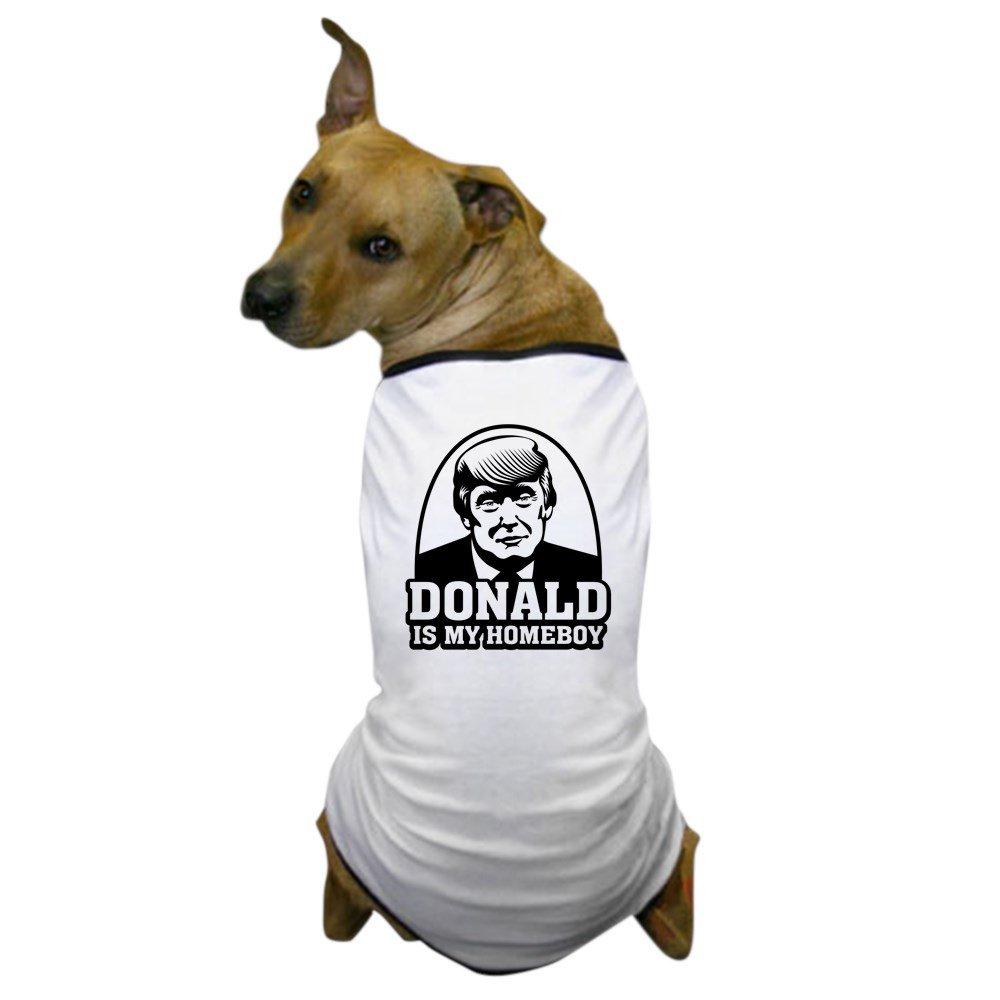 CafePress - Trump Is My Homeboy - Dog T-Shirt, Pet Clothing, Funny Dog Costume