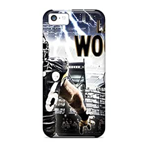 High Quality DateniasNecapeer Pittsburgh Steelers Skin Cases Covers Specially Designed For Iphone - 5c