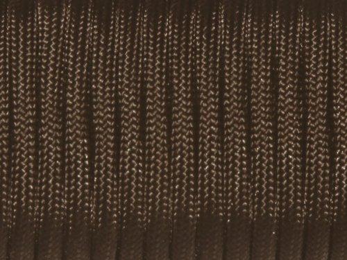 (100ft 550 Paracord Parachute Cord Lanyard Mil Spec Type III 7 Strand Core (Dark Coffee))