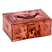 Vishisht High Quality Home Decorative Copper Money Saving ba