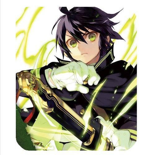 Hollow Slim Square Mat Mousepad For PC New Anime Seraph Of the End Mouse Pad