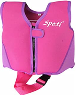 ae3d3e437c603 Titop Buoyancy Aid For Child For New Swimming Learner For Baby Purple Small  For Children Between