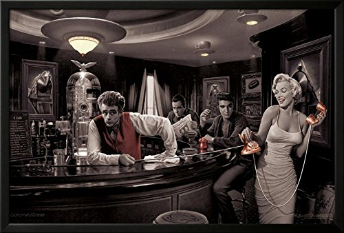james dean and marilyn poster - 2