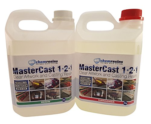 MasterCast artwork resin 141 ounce kit by EliChem